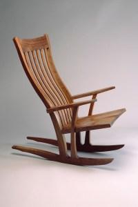 Mesa Rocking Chair | Custom-Built Wood Rocking Chair ...