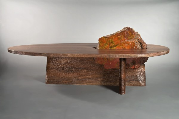 Cleft Coffee Table Solid Wood - Seth Rolland