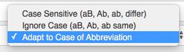 TextExpander Abbreviation