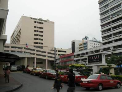 Wisma Merdeka and Hyatt hotel is so near..