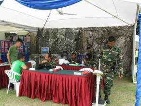 Health Check for those who want to register in Army