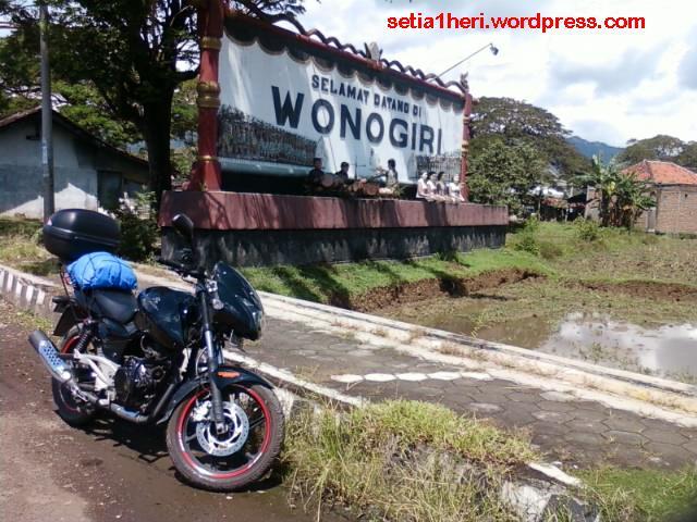 gerbang selamat datang di kabupaten wonogiri sukoharjo