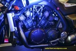susunan mesin Yamaha V-Max