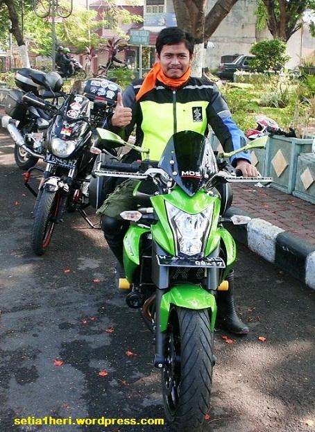 ilustrasi biker :-D