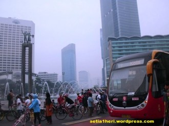 bunderan HI Transjakarta