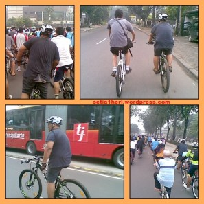 gowes car free day