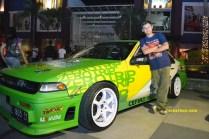 mejeng mobil rally WRC