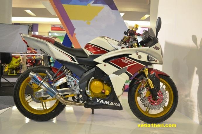 yamaha vixion R6 modifikasi