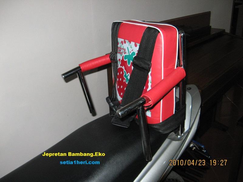 jok kursi anak di belakang boncenger  setia1hericom