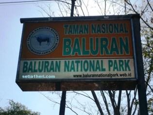 papan TN Baluran