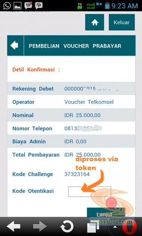 BNI Internet Banking versi mobile atau gadget (6)