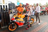 Marc Marquez refuels REPSOL in Corpolo (Italy), on the road to Misano 2014