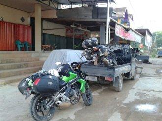 motor kerr mufid di naikkan pick up