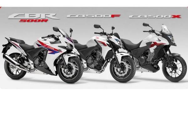 Honda CBR500R-CB500F-CB500X