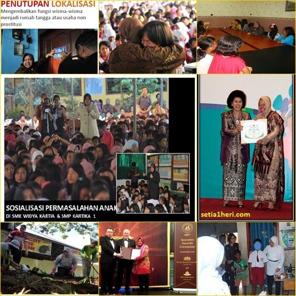 aktivitas Tri Rismaharini sebagai walikota Surabaya