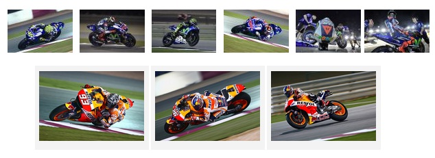 pre-session test moto gp at losail 2015