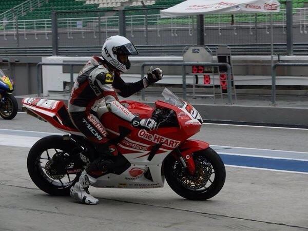Dimas Ekky Pratama (#20), pebalap berbakat binaan AHM siap bertanding di ARRC kelas Supersport 600cc