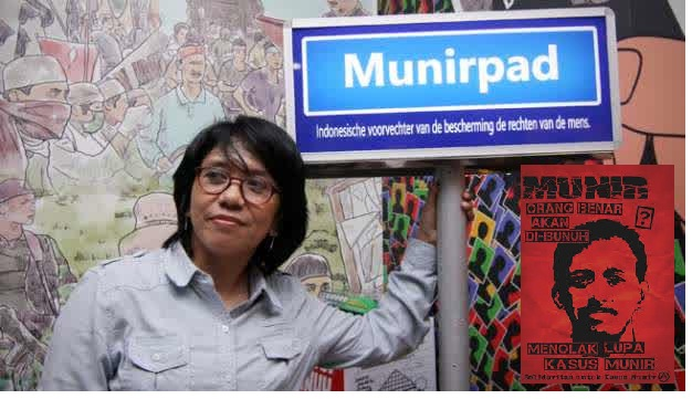 Munirpad, pejuang HAM Munir