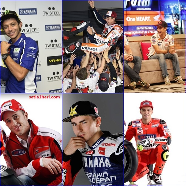 nickname pembalap moto gp 2015