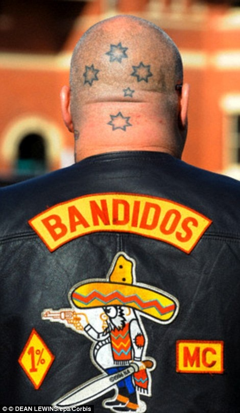 Bandidos and Cossacks crash in Texas 2015 Amerika
