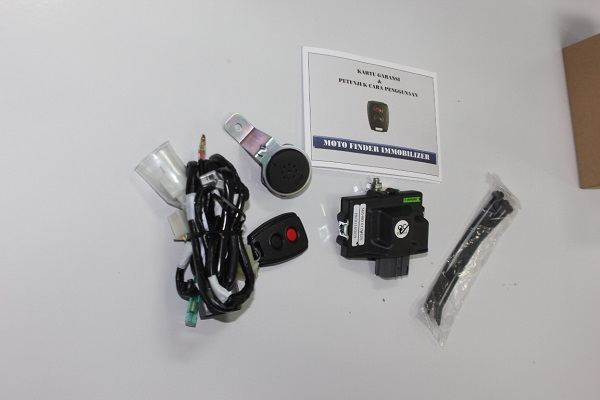 Fitur Autosafe GT Eagle Eye Motor Anti Maling