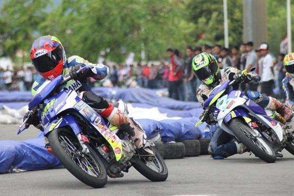 Zefri Adi pemenang YCR 1 dan YCR2 Seri 2 Yamaha Cup Race di Aceh