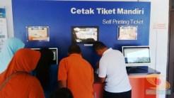 Cetak Tiket Mandiri kereta api