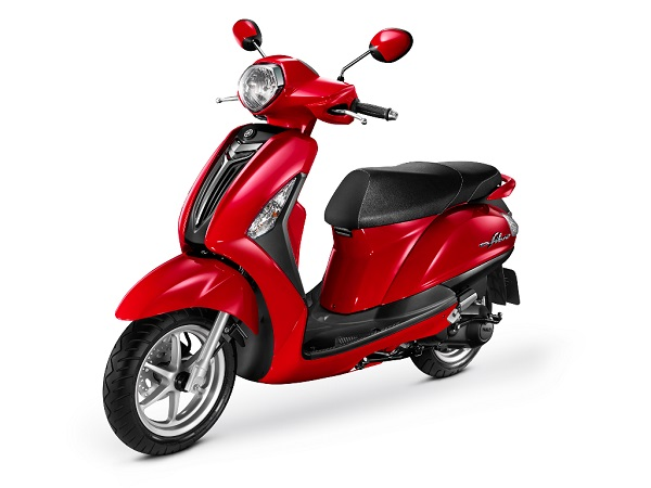 Grand Filano Vivid Red Metallic tahun 2015 di Indonesia