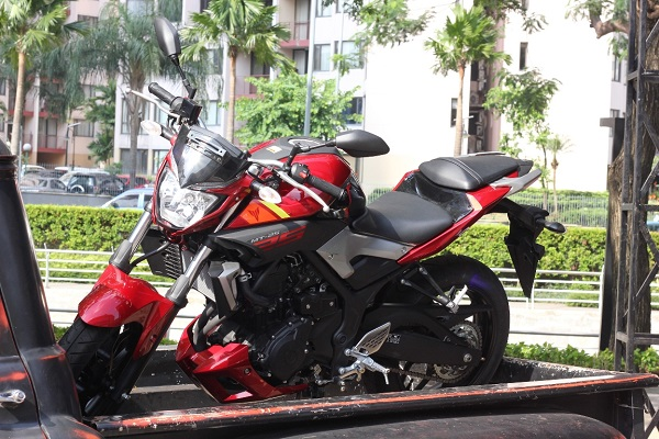 Yamaha MT-25 Red Rage