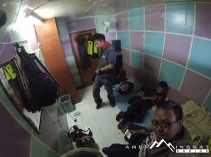 kondisi kamar ABK di kapal dari Sape menuju Labuhan Bajo, NTT