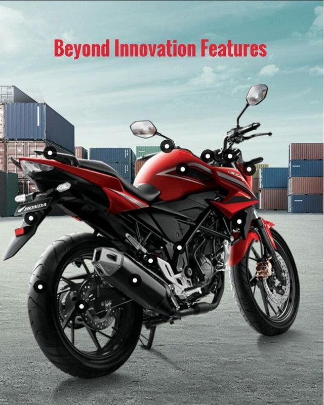 All New Honda CB150R facelift tahun 2015 (3)