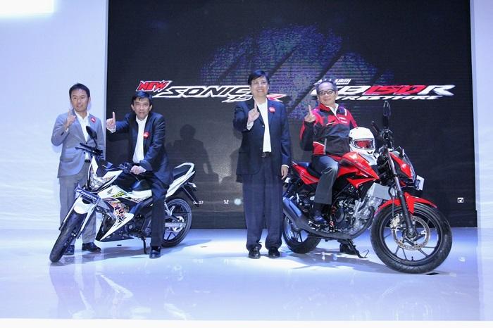 Peluncuran All New Honda CB150R StreetFire dan Honda Sonic 150 R tahun 2015
