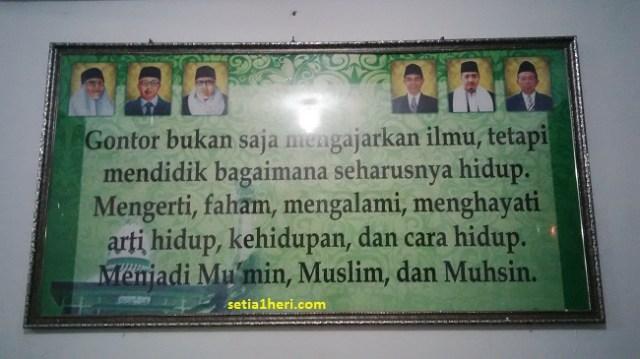 filosofi pesantren gontor ponorogo indonesia