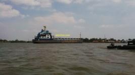 kapal pupuk pusri di palembang