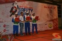 pemenang lomba Astra Honda Safety Riding Instructors Competition tahun 2015 di Palembang, Sumatera Selatan (5)