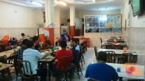 suasana Martabak HAR di malam hari di Palembang