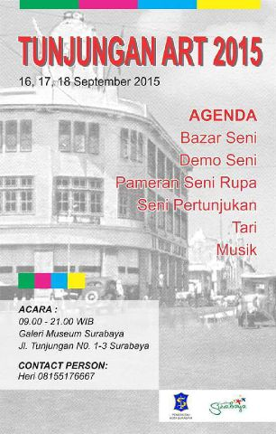 Poster tunjungan art 2015