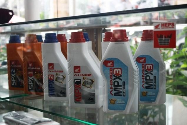 Mengenal Perbedaan Oli SPX Dan MPX Honda AHM Oil