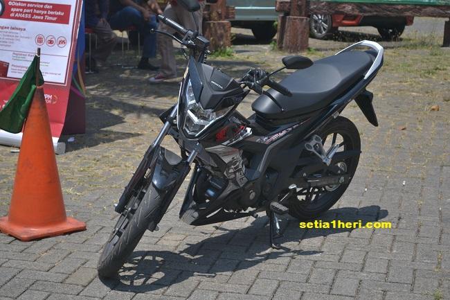 tajam tatapan Honda Sonic 150 R