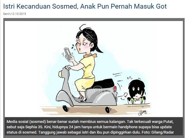 Ibu gila sosmed di Surabaya hingga anak masuk got