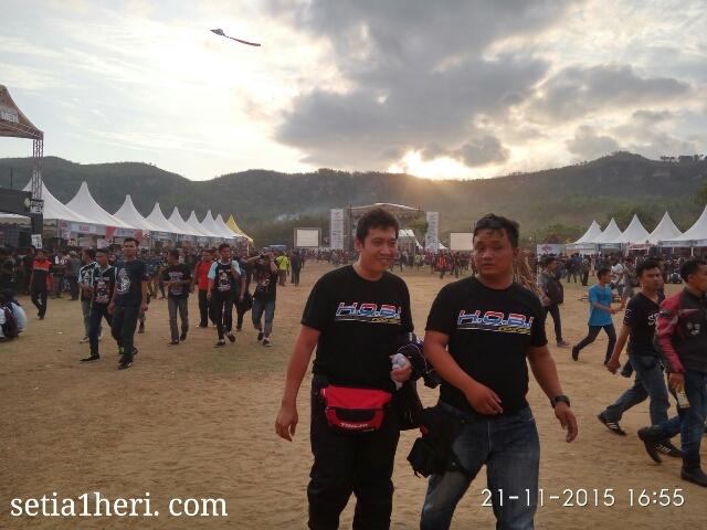 Honda Bigbike Indonesia di HBD Pacitan tahun 2015