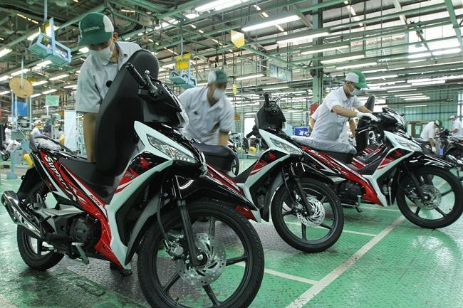Ini stripping New Honda Supra X 125 FI tahun 2015