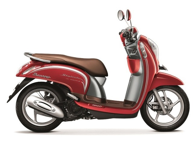 Scoopy eSP Stylish Vogue Red - tahun 2015