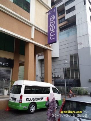 hotel metro bukit bintang kuala lumpur malaysia tahun 2015