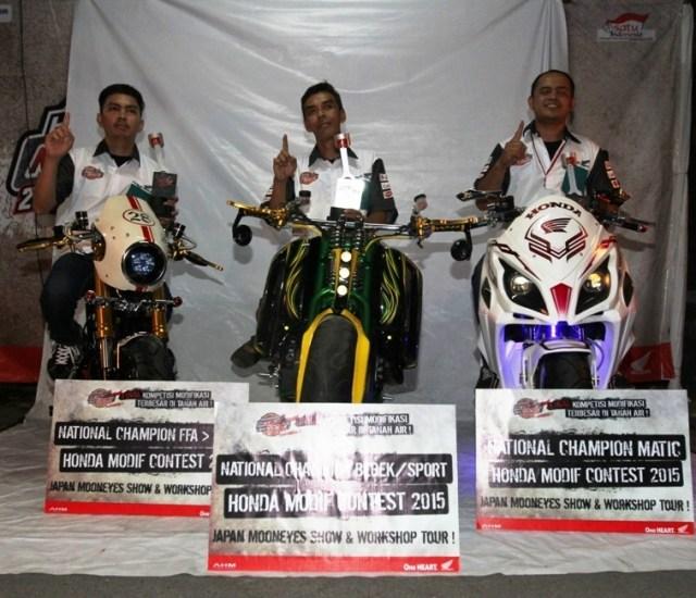modifikator Honda Moto Project 2015