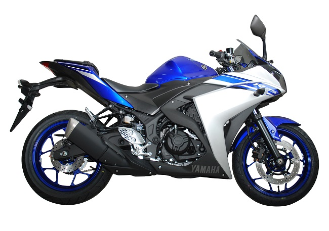 YZF-R25 ABS Racing Blue (Biru) tahun 2015
