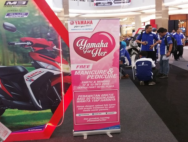 Yamaha For Her beauty treatment di mall (3)
