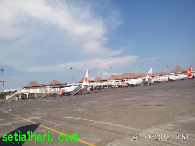 maskapai Lion Air di Bandara Internasional Juanda Surabaya 2015
