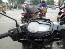 test ride Yamaha MX King tahun 2015 di Kota Surabya