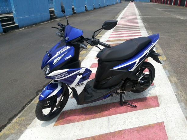 Modifikasi Aerox 125LC tim Yamaha Indonesia (Asia Road Racing Championship) 2015